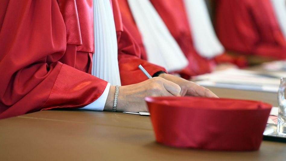 Richter am Bundesverfassungsgericht in Karlsruhe (Archivbild)