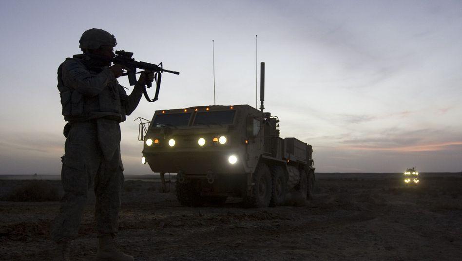 """US-Soldat (Archivbild): """"Meiner Meinung nach zeigt das Stärke"""""""