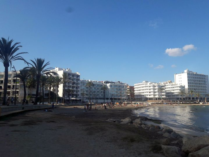 Strand auf Ibiza