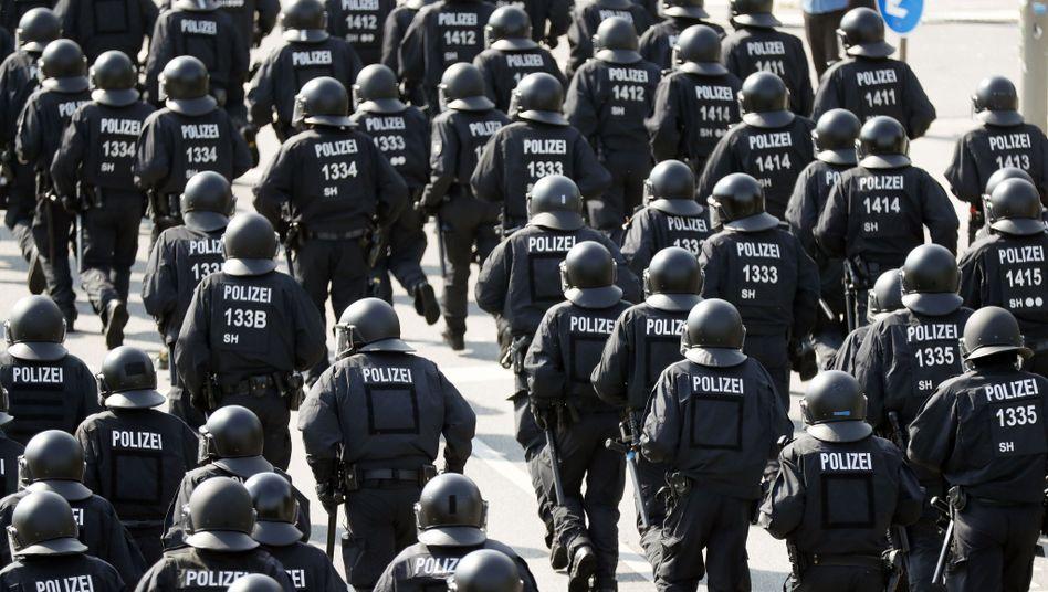 Polizisten bei G20-Einsatz