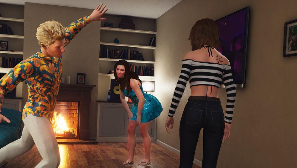 Die pubertäre Sexsimulation »House Party« ist in Deutschland schon länger nicht mehr verfügbar – zumindest über Steam