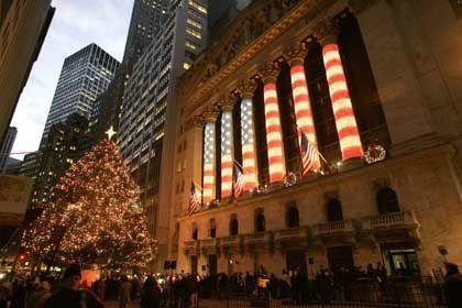 "Weihnachten an der Wall Street: Kreuzzug gegen die ""Holiday Trees"""