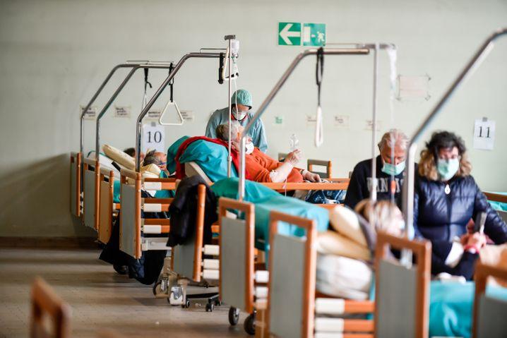 corona patienten aus italien