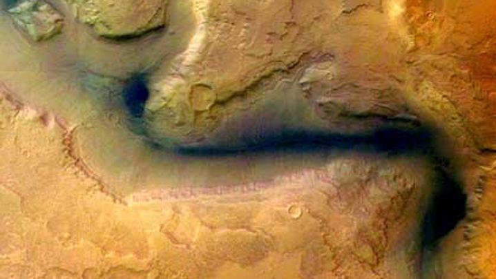 Sensationelle Bilder: Esa-Sonde entdeckt Wassereis auf dem Mars