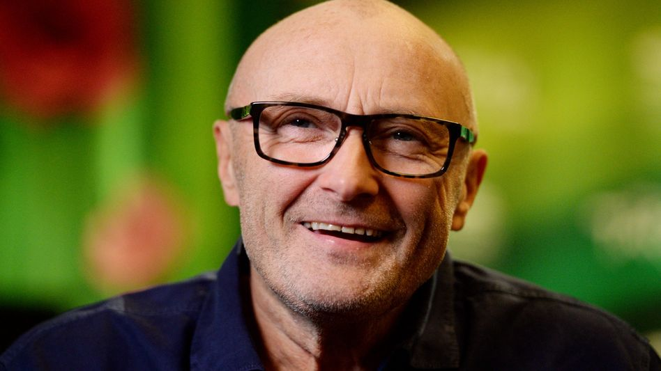 Phil Collins im Glück: Versöhnung mit Ex-Frau Nummer Drei