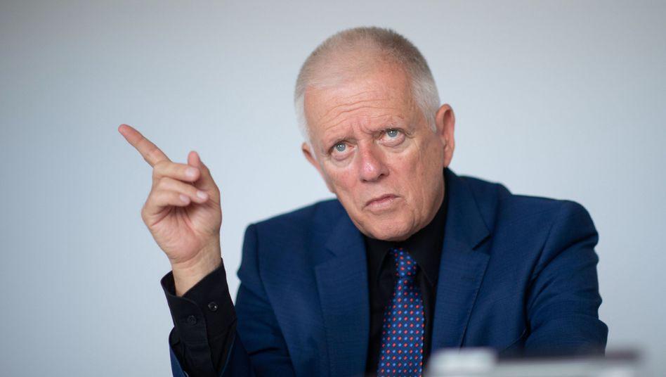 Stuttgarts Oberbürgermeister Fritz Kuhn