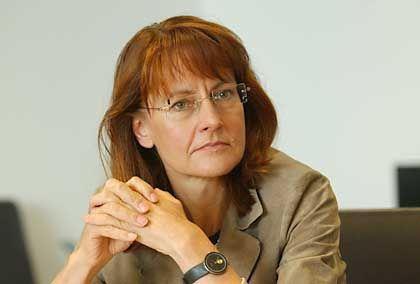 Muss reichlich einstecken: Ministerin Bulmahn