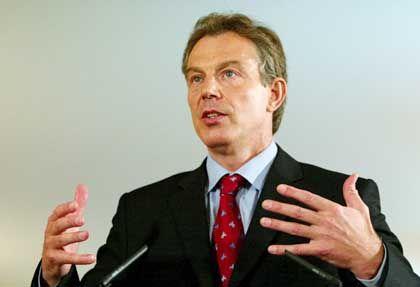 Wehrt sich: Tony Blair