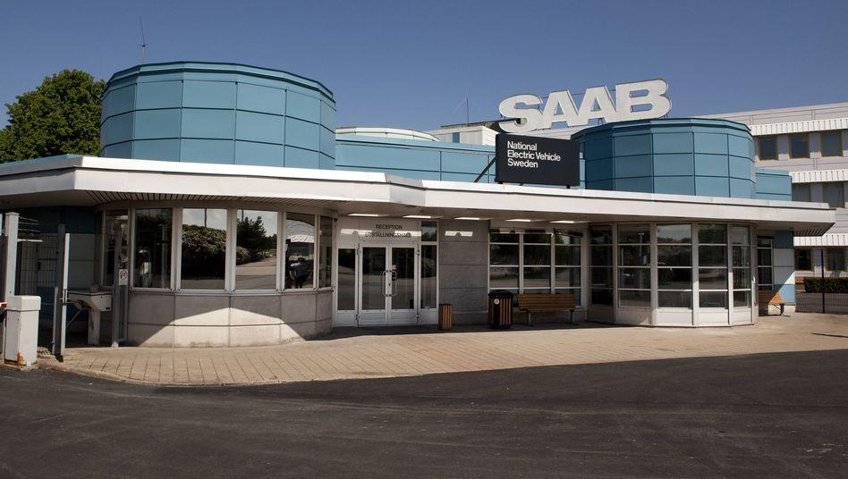 Saab-Unternehmenssitz in Trollhättan: Hier soll das Modell 9-3 vom Band laufen