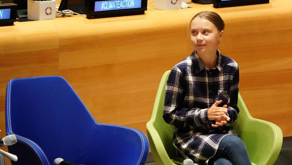"""Klima-Aktivistin Thunberg (am Wochenende in New York): """"Den Mächtigen die Wahrheit sagen"""""""