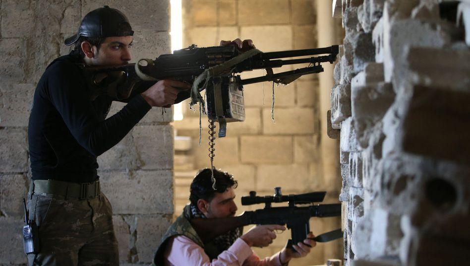 Syrischer Rebell: EU ermöglicht Waffenlieferungen