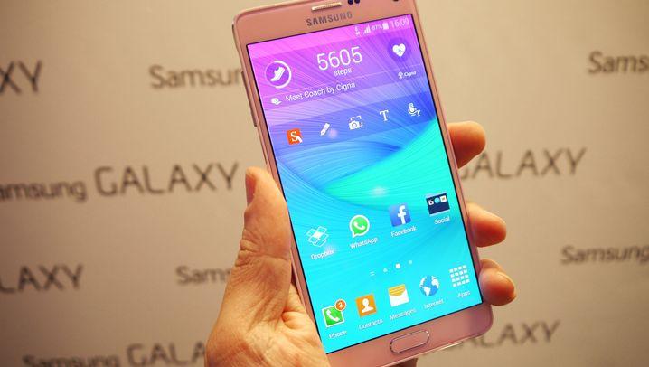 Ifa-Neuheiten: Samsungs verbogene Gadgets