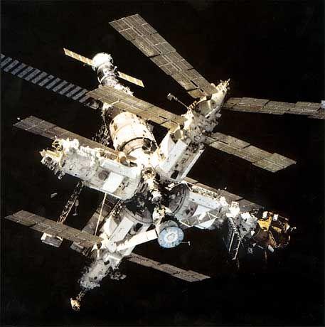 """Raumstation """"Mir"""": """"Die letzten Minuten wird niemand sehen"""""""