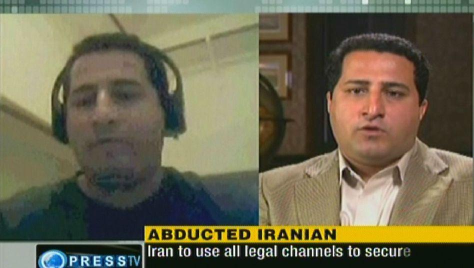 Angeblicher Wissenschaftler Amiri (im iranischen TV, Archivaufnahme): Angeblich entführt, angeblich geflohen