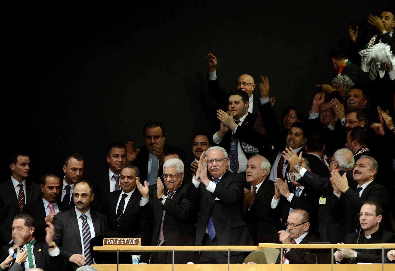 uno abbas palästina