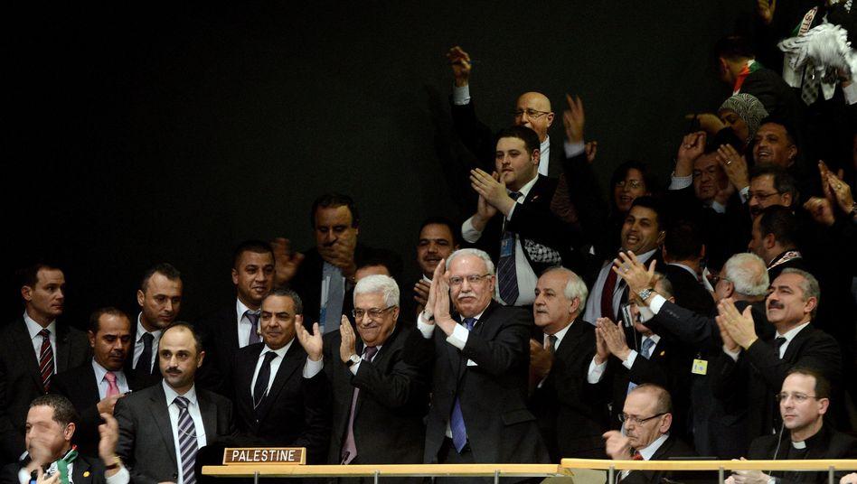 """Palästinenserpräsident Abbas vor der Uno: """"Status schon vorher privilegiert"""""""