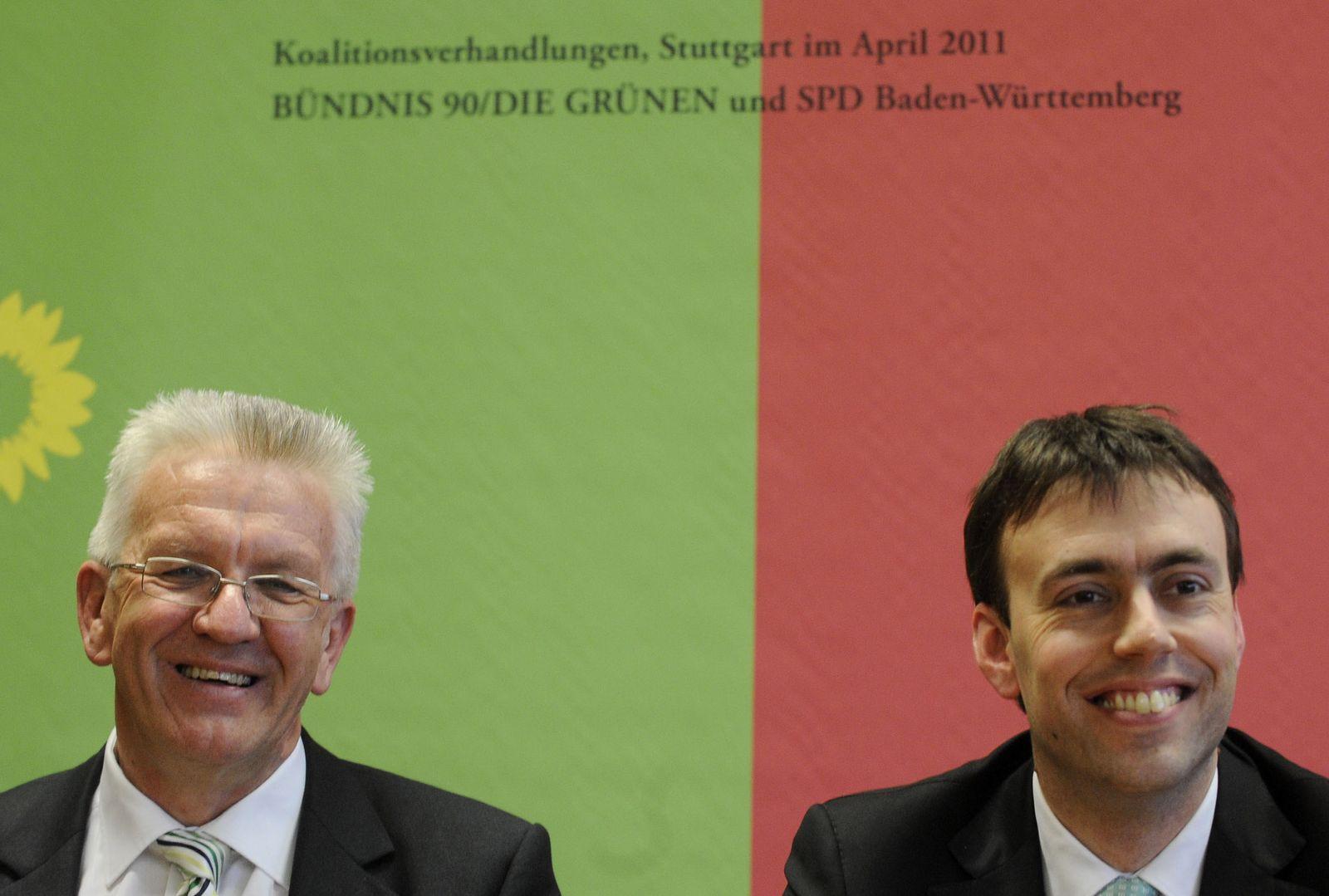 NICHT VERWENDEN Winfried Kretschmann / Nils Schmid
