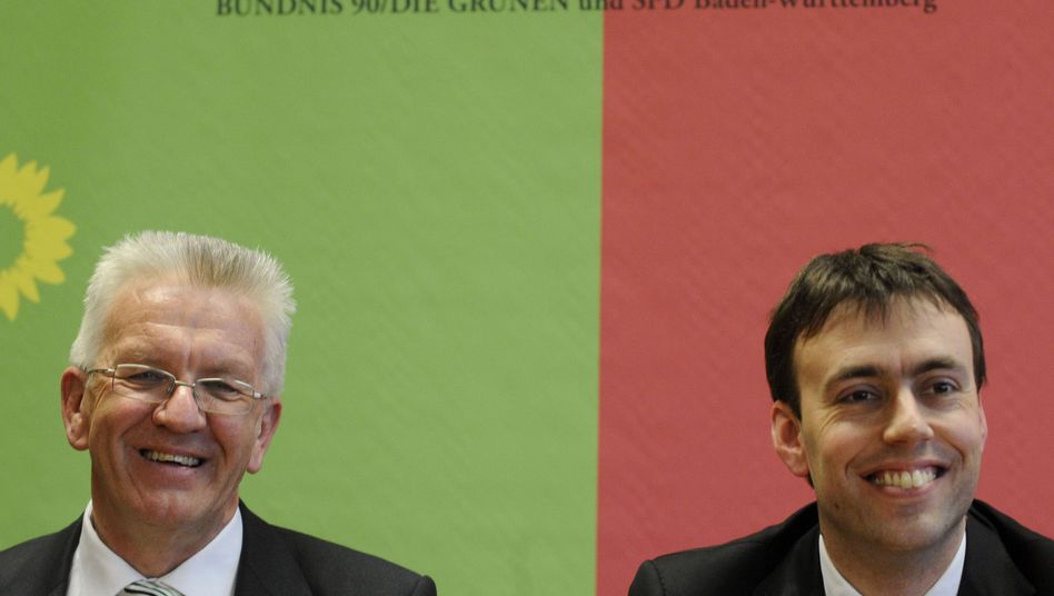 Winfried Kretschmann und Nils Schmid: Tauziehen um Volksentscheid beendet