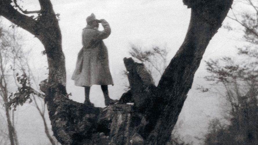 Österreichischungarischer Posten in Serbien 1915