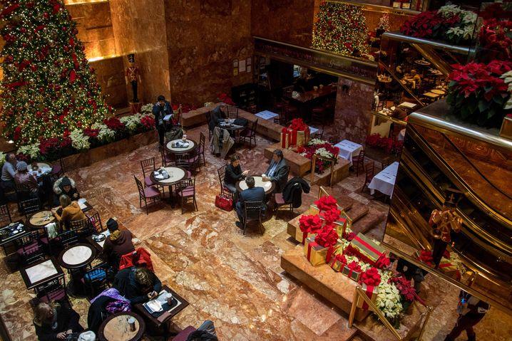 Trump Tower Grill: Nicht immer ganz sauber