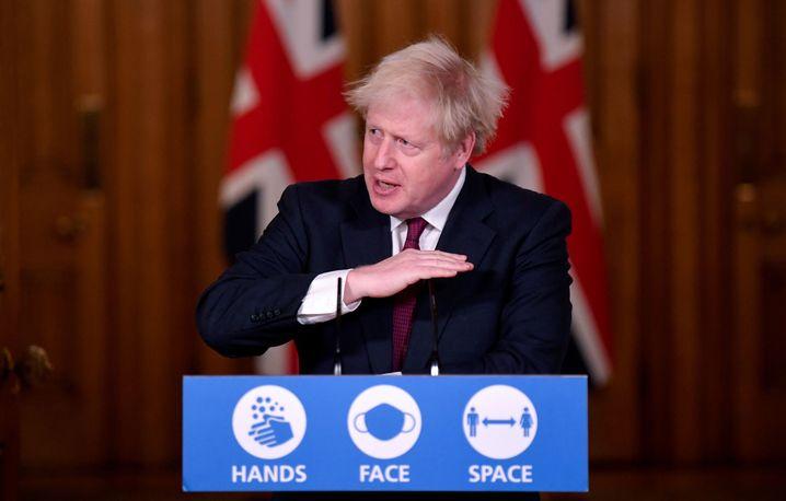 Großbritanniens Premier Johnson