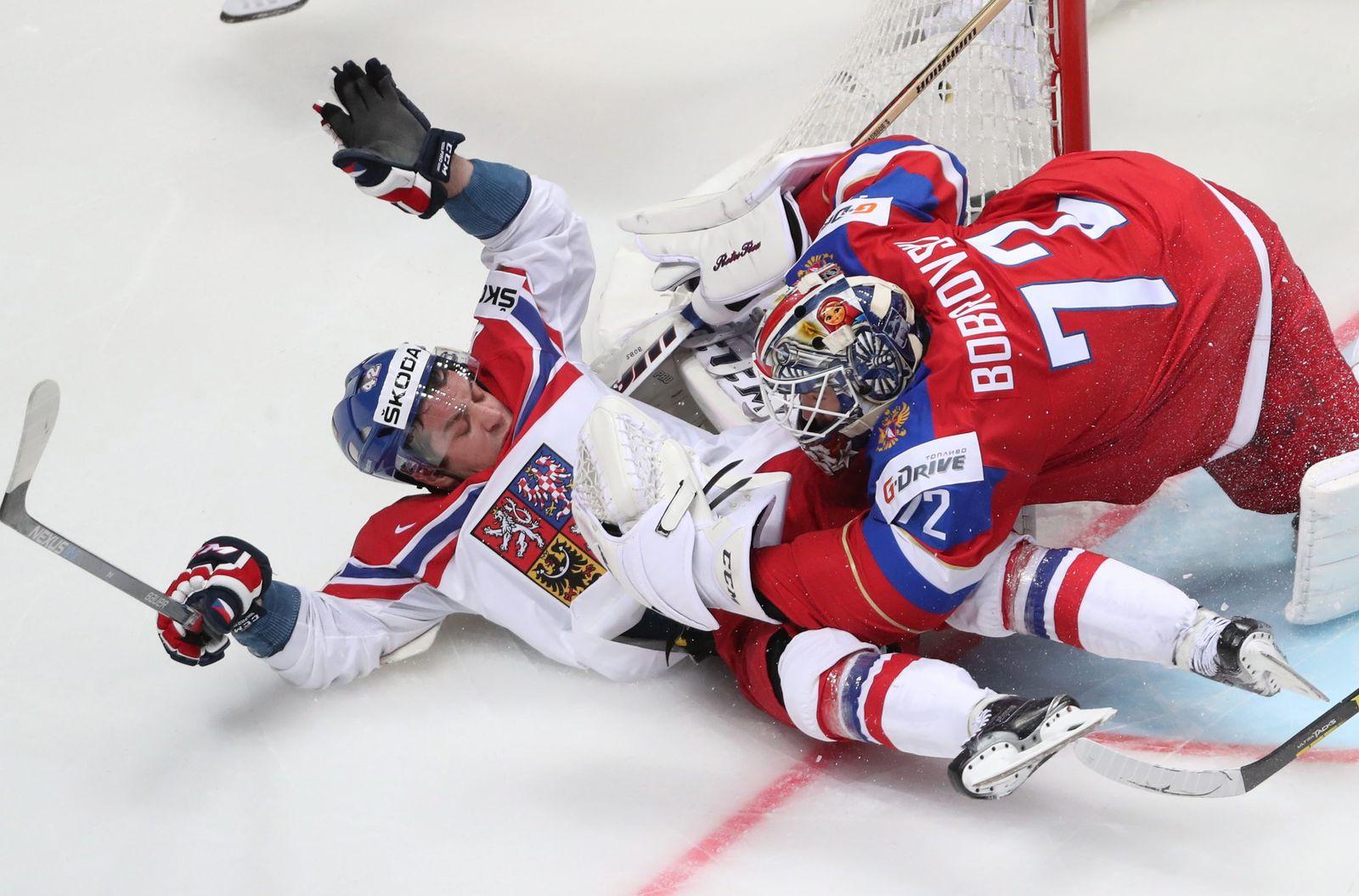 Eishockey: Russland vs. Tschechien