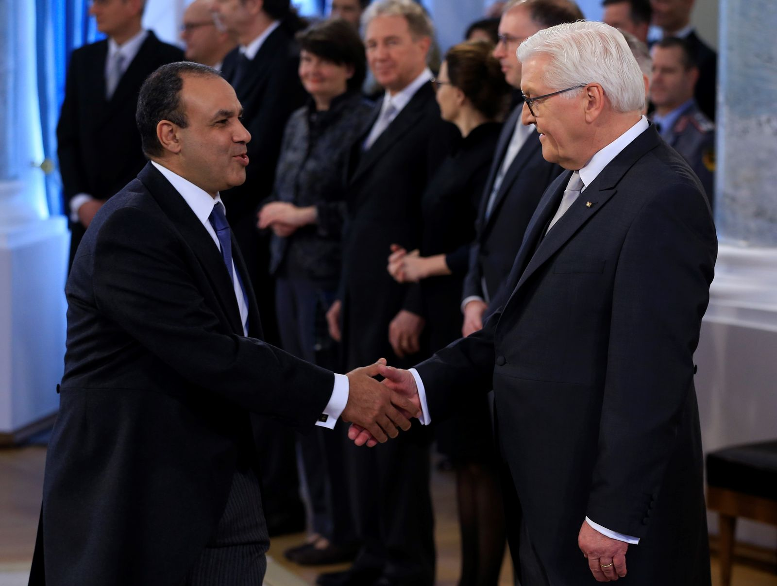 New Year reception by German President Frank-Walter Steinmeier
