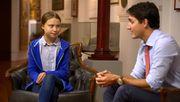 Justin Trudeau fällt auf falsche Greta Thunberg herein