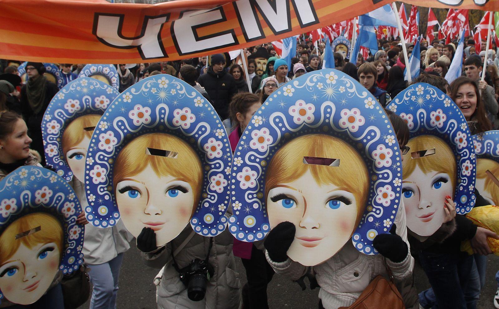 Russland / Nationalfeiertag / Naschi