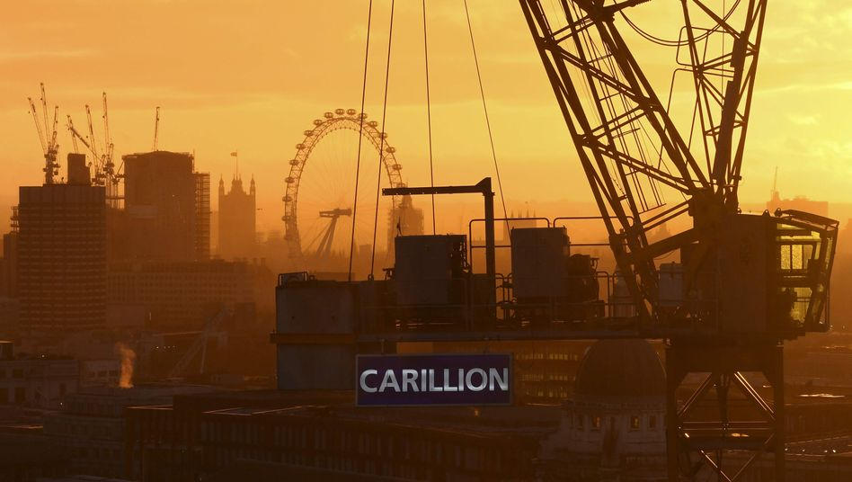 Carillion-Baustelle in London