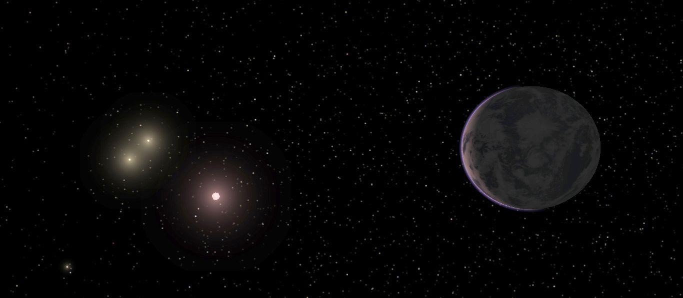 EINMALIGE VERWENDUNG Astrophysik / Super-Erde / WISSENSCHAFT