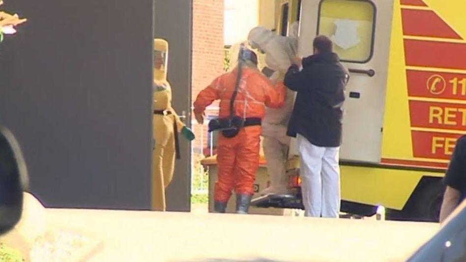 """Ebola-Infizierter in Hamburg: """"Der Patient ist in einem Zustand, der hoffen lässt"""""""