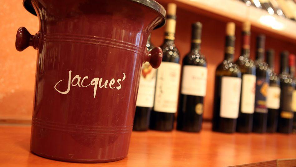 Filiale von Jaques' Weindepot in Hamburg: Hawesko-Umsatz von 556 Millionen Euro
