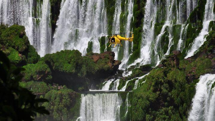 Iguazú-Wasserfälle: Tödlicher Unfall in den tosenden Fluten