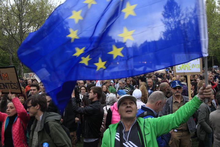 Proteste im April 2017