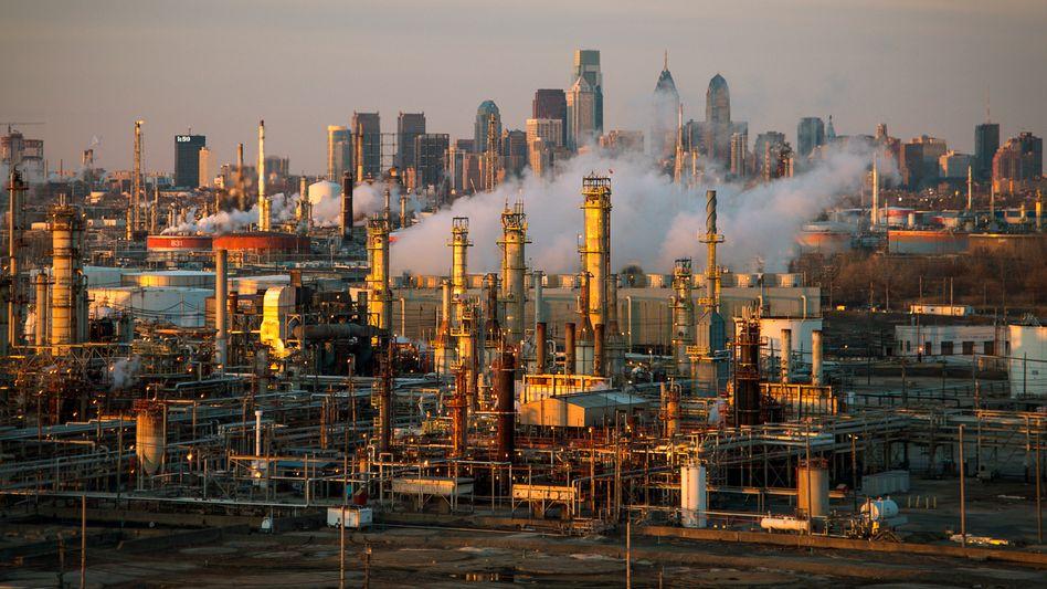 Industrie in Philadelphia, USA