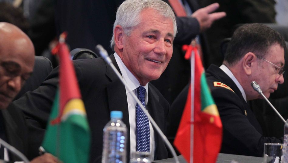 "US-Verteidigungsminister Hagel in Peru: ""Beunruhigende Hinweise"""