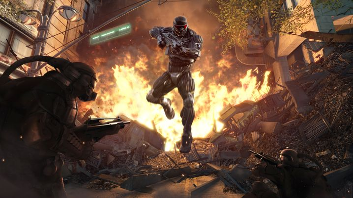 Crysis 2: Hochglanzballerei aus Frankfurt