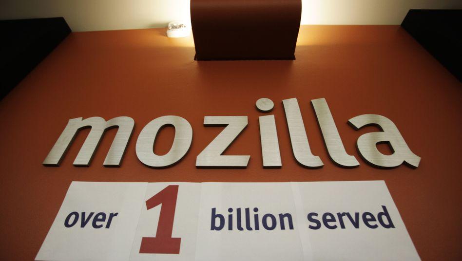 Im Jahr 2009 feierte Mozilla den 1.000.000.000. Download des Firefox-Browsers