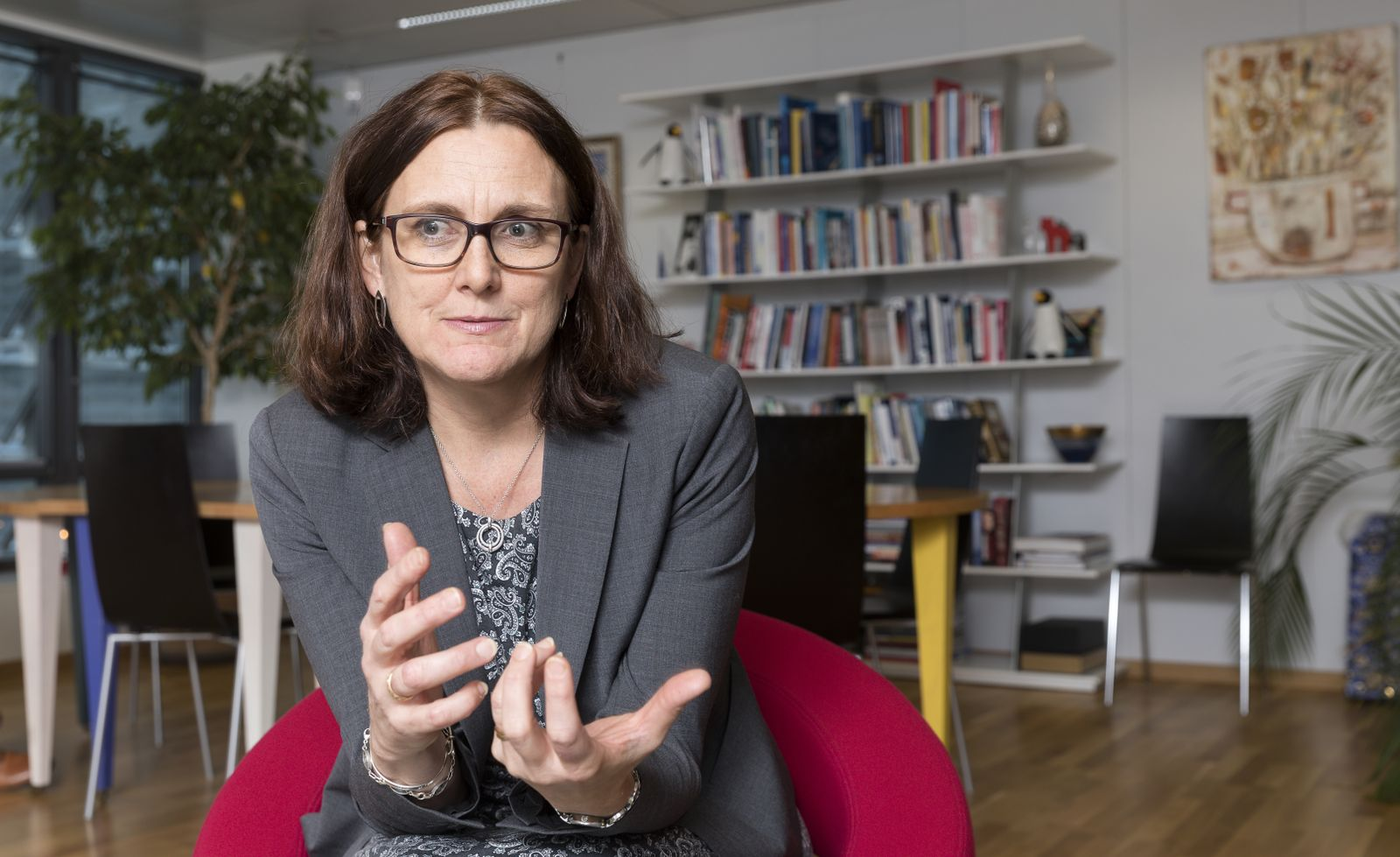 Freihandelszone/ Cecilia Malmström