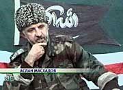 Aslan Maschadow ist der gewählte Präsident Tschetscheniens, für Putin aber der Drahtzieher hinter der Geiselnahme