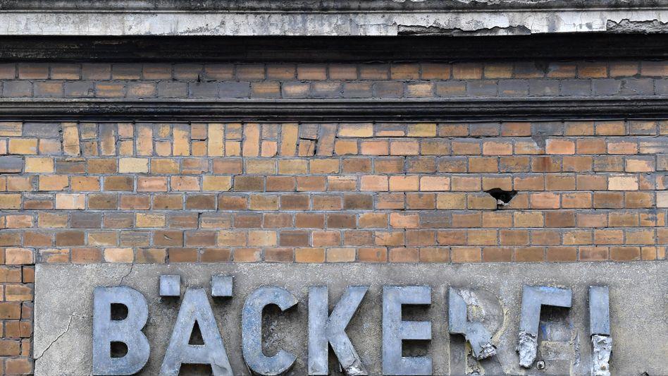Verfallene Bäckerei in Dessau-Roßlau, Sachsen-Anhalt