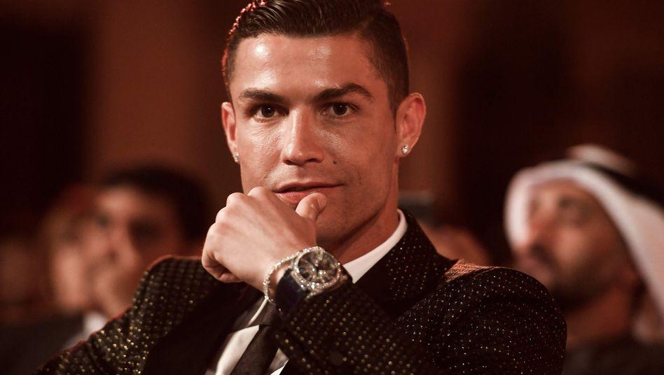 Cristiano Ronaldo in Dubai