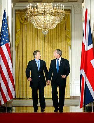 Blair, Bush: Stimmung im Keller