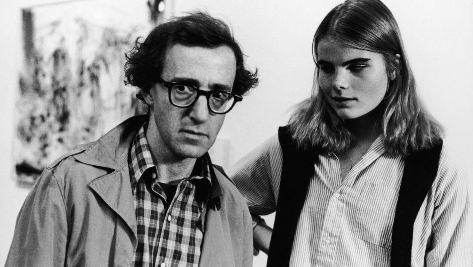 """Woody Allen und die 17-Jährige Mariel Hemingway in """"Manhattan"""""""