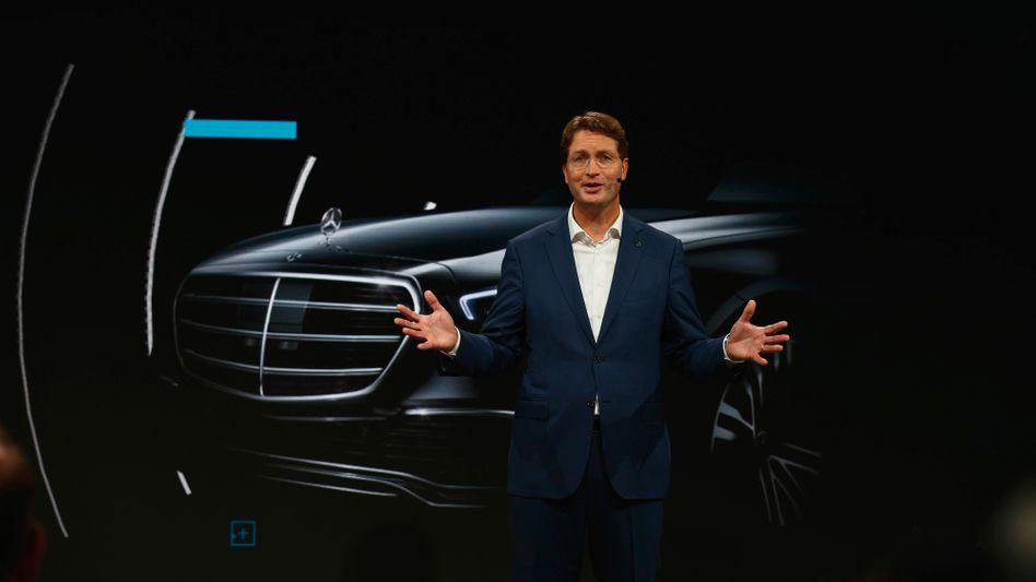 Chefsache: Ola Källenius will Mercedes-Benz schneller elektrifizieren und ändert dafür die Strategie