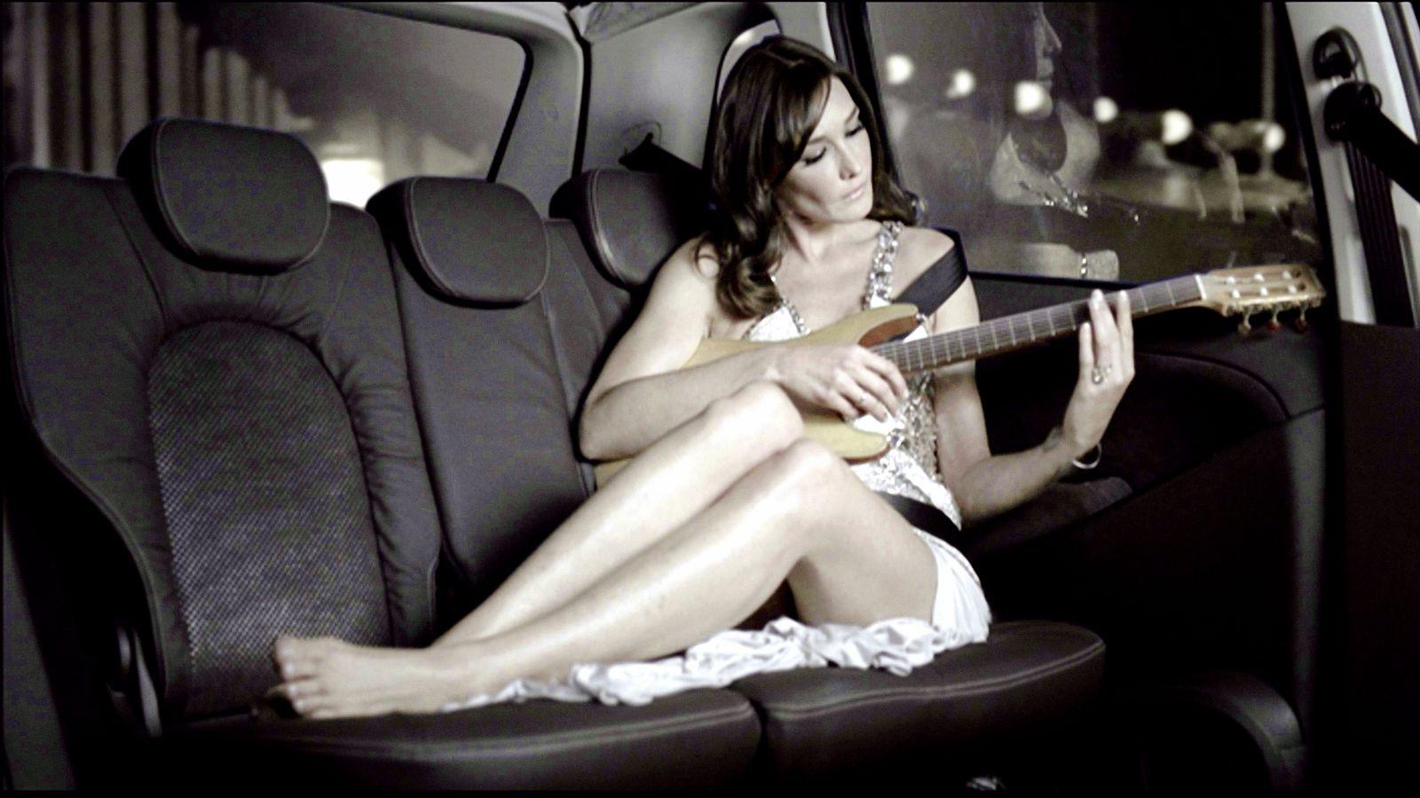 Bruni/ Lancia-Werbung