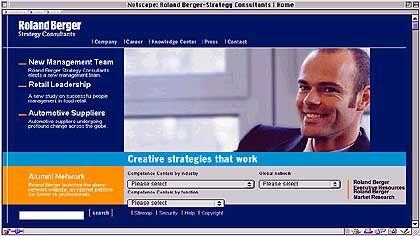 Platz 7 (6,01 Punkte): Roland Berger. Die Unternehmensberatung verschickte einen Rundbrief an viele große Unternehmen - auch an den Chef des größten Konkurrenten McKinsey.