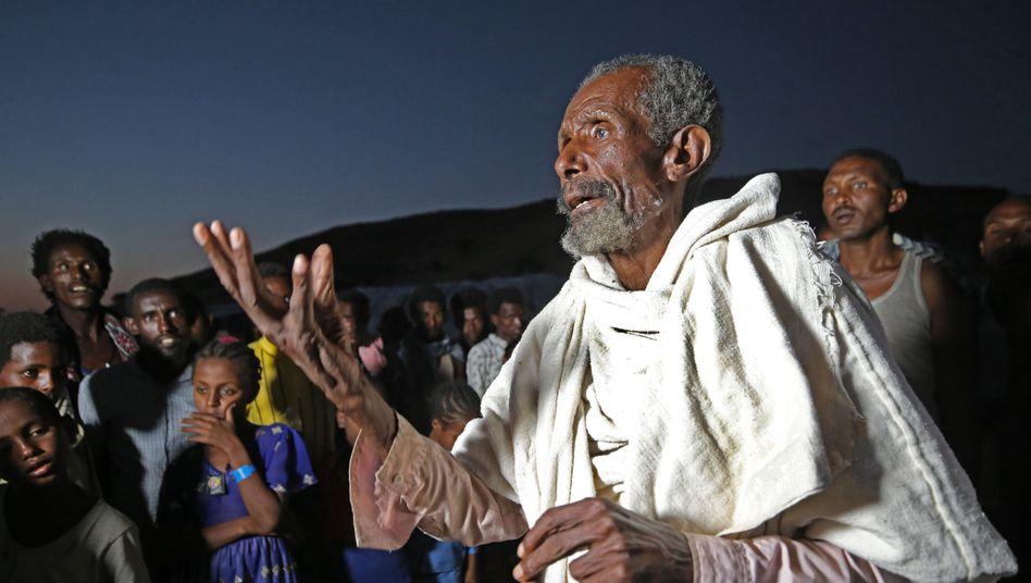 Brauchen Hilfe: Äthiopische Geflüchtete im Sudan
