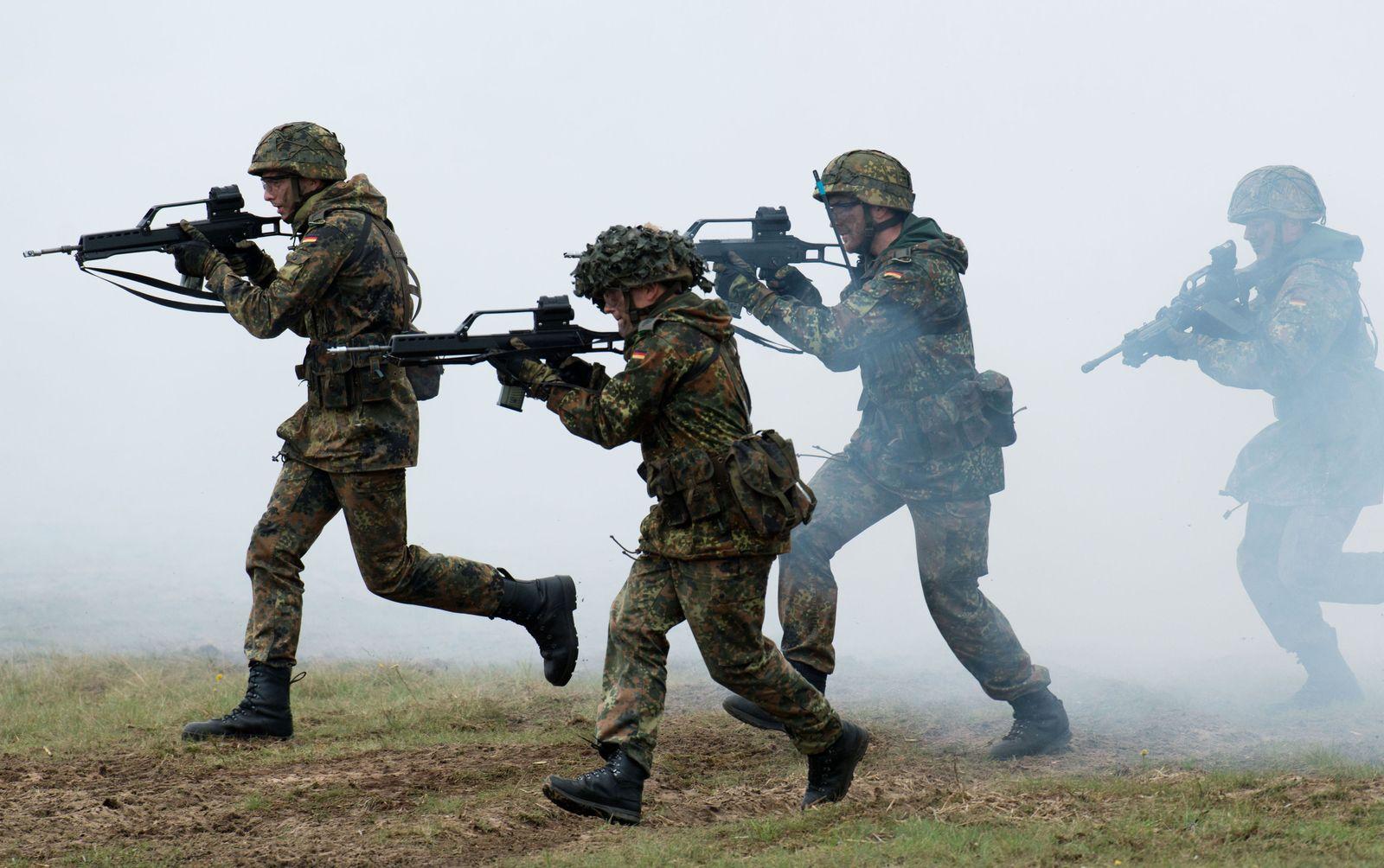 Bundeswehr: Soldaten